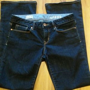 GAP 1969 Sexy Boot Dark Wash Jeans(27/4)EUC